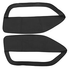 Fit For 05-09 Ford Mustang Door Panel Insert Cards Synthetic Leather Cover A