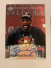 Michael Jordan Signed Card Auto Autograph With Sports Authority COA UDA