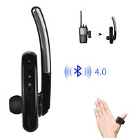 M Head Écouteur sans fil Bluetooth Walkie Talkie Headset Écouteur radio