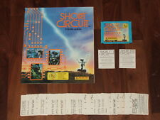 Short Circuit 1987 empty Panini Sticker album, all 240 loose stickers & packet..