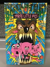 Three Little Pigs | Green Jelly | RARE-NEW | Cassette| SHIPS First CLASS