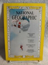 NATIONAL GEOGRAPHIC MAGAZINE AUGUST 1964; MOZAMBIQUE; IRELAND; PARA-EXPLORERS