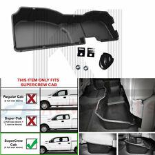 Under Seat Storage Tool Box For 2014-18 Chevrolet Silverado Sierra 1500 Crew Cab