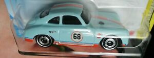Hot wheels PORSCHE 356 OUTLAW Gulf 2021 new without package
