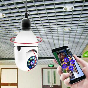 Wifi Camera Bulb E27 360° Full Color HD 1080P at Night Home IP Security Camera
