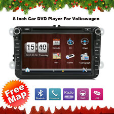 8''Autoradio DVD Player Mit GPS Navigation Für VW passat/golf/jetta/polo/Touran+