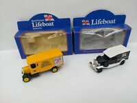 Lledo RNLI Die Cast Set of Two Vehicles Mustard & Black Colour Boxed-Pre-owned