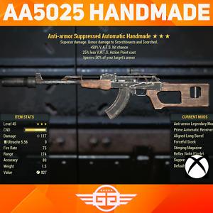 Anti-Armor , 50 VHC 25LVC Handmade - AA5025 Handmade -  Fallout76 [XBOX]