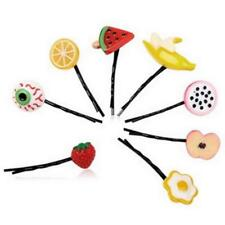 Cute Gift Fashion Hairpin For Hair Clip Accessories Fruit and Vegetable Design