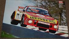 Porsche 935/2 Gelo Weisberg Loos DRM - Poster von 1978 - 42 x 28 cm