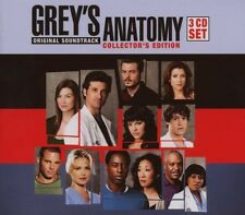 GREYS ANATOMY 3 CD BOX SET 3 CD OST/SOUNDTRACK/FILMMUSIK NEW+
