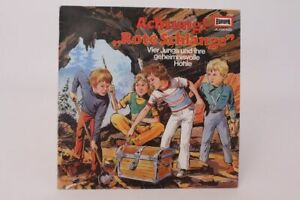 Attention! Red Snake 4 Boys and Their Mysterious Cave Radioplay E2104 LP