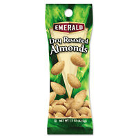 Emerald Dry Roasted Almonds 1.5 oz. Tube Package 12/Box 84170