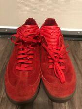 Adidas Samba Mc Men Red Suede Sneakers Size US 12 TT13