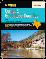 Comal & Guadalupe Counties TX Mapsco Street Atlas