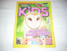 National Geographic Kids Magazine Issue 114 Summer 2015 Barn Owls