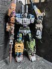 transformers warbotron bruticus Oversized Masterpiece Combiner