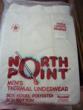 NORTH POINT MENS THERMAL UNDERWEAR PANTS 3XL USA OLD STOCK