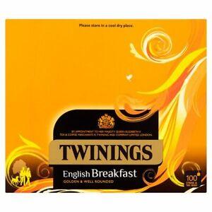 Twinings English Breakfast Tea  individually enveloped bags  FREE UK POSTAGE