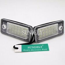 2 LED License Plate Lights For Audi A3 A4 / S4 (B6 B7) A6 A8 Q7 RS4 RS6