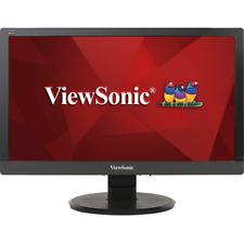 """ViewSonic VA2055SA, 20"""" (19.5"""" Vis) 16:9 Wide LCD Monitor 1920x1080 VGA Black"""