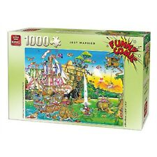 1000 Piece King Funny Comics Just Married Puzzle - Comic 1000 5224 Compact Box
