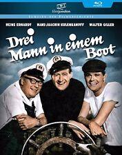 Drei Mann in einem Boot - Heinz Erhardt (3 Mann in 1 Boot) - Filmjuwelen BLU-RAY