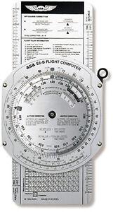 ASA E6-B Metal Flight Computer Essential Equipment For All Pilots ASA-E6B