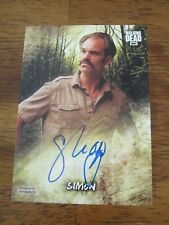 Walking Dead Road To Alexandria Autograph #AC SO Steven Ogg - Simon