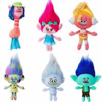 Movie Trolls Large Poppy Branch Hug 'N Plush Figures Doll Kids Xmas Gifts Toys