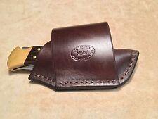 Custom Leather Crossdraw Sheath for BUCK 110/112
