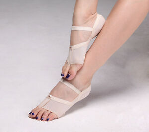 Mesh Dance Shoes Belly Dance Foot Pad, Footwear, Dance Paws, Daily Use S M L
