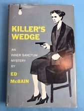 KILLER'S WEDGE - FIRST EDITION SIGNED BY ED MCBAIN