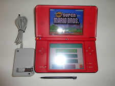 Nintendo DSi XL 25th Anniversary Edition . Red Handheld Syste