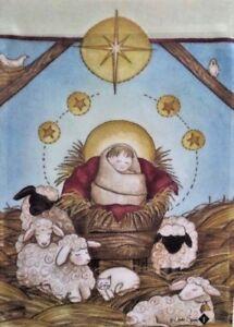 "Nativity Garden Flag by Toland, 12.5"" x 18"",  #7273, Christmas"