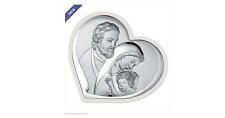 FUSCO argento Beltrami Icona capezzale cuore sacra famiglia bel6500/1w   €17,90