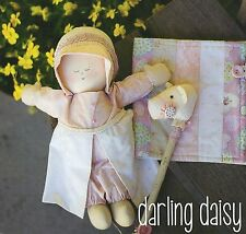 DARLING Daisy-Cucito Craft pattern-Cloth Rag Doll Clothes Horse Quilt