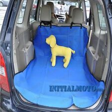 Blue Waterproof Fabric Car Hatchback Pet Dog Cat Cover Cargo Liner Mat Protector