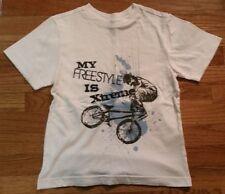 Crazy 8 FREESTYLE BIKE Cotton T-Shirt Boys Size Small 5 6