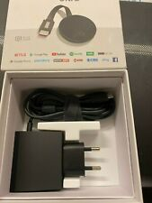 Google Chromecast Ultra HD 4K HDR WiFi Media Streaming Stick