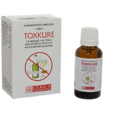 Lords Toxkure Drops (30ml)Lowers the Toxic After Effects and Craving of Nicotine