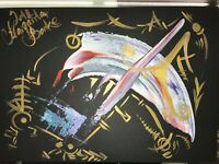 ORIGINAL MALEREI PAINTING zeichnung contemporary ART BILD A4 abstrakt abstract 0