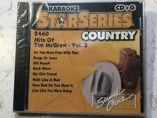 SOUND CHOICE STAR SERIES KARAOKE CD+G HITS OF TIM McGRAW VOLUME 3 2460