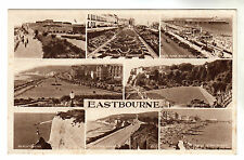 Eastbourne - Multiview Photo Postcard c1940s