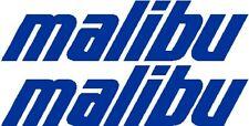 "42"" Custom Malibu Logo - Boat Decal Sticker - Pair - L@@K!"