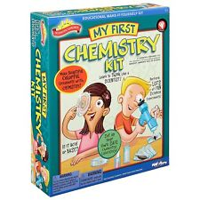 MY FIRST CHEMISTRY KIT KIDS FUN EDUCATIONAL SCIENTIFIC EXPLORER SCIENCE KIT
