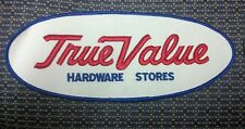 """Vintage True Value Hardware Stores Sew-On Patch 9.5"""" x 4"""""""