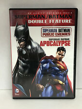 Superman/Batman Double Feature: Public Enemies/Apocalypse [2 Discs] DVD Region 1