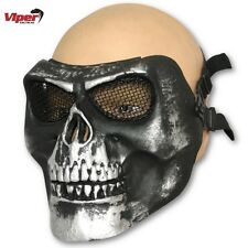 VIPER HARDSHELL FACE MASK AIRSOFT SKULL PAINTBALL PROTECTION HALLOWEEN