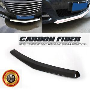 Carbon Fiber Front Bumper Lip Chin Spoiler for Mercedes Benz W212 E200 E260 E300